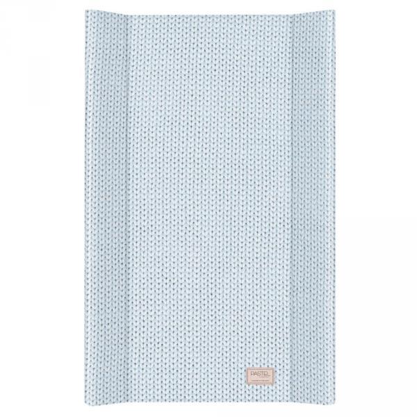 Пеленальная доска Ceba Baby 50х80 Pastel Collection English rib blue