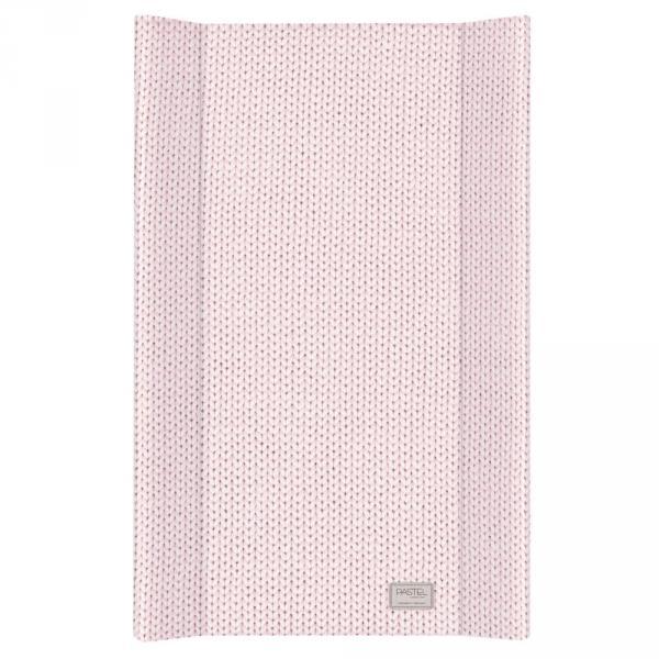 Пеленальная доска Ceba Baby 50х80 Pastel Collection English rib pink