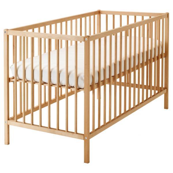 Детская деревянная кроватка (бук)