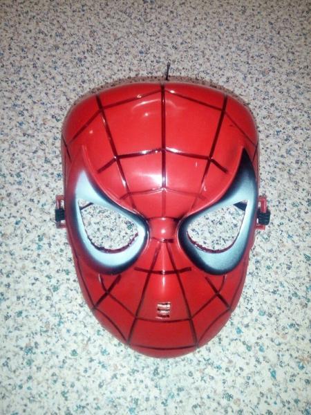 Карнавальная маска Человек паук