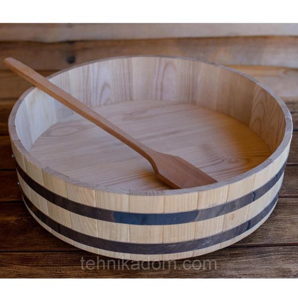 Хангири кадка для риса Seven Seasons ясень 60 см (WT-121-02)