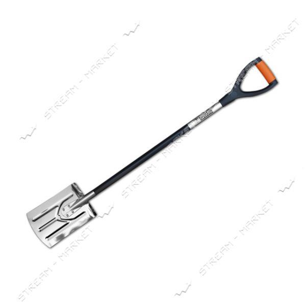 Лопата штыковая широкая Bradas TQ-SS11 с черенком