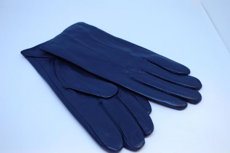 Перчатки кожаные мужские Pitas 2091 (Темно-синие) 9