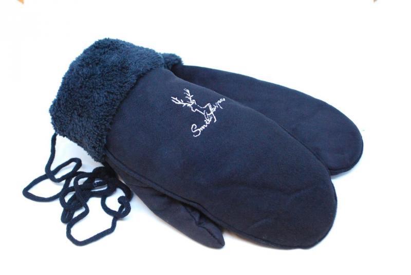 Варежки женские UGG 5102-8 (Черные)