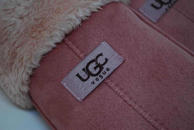 Варежки женские UGG vogue 5103-6 (Розовые)