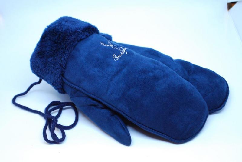 Варежки женские UGG 5102-9 (Синие)