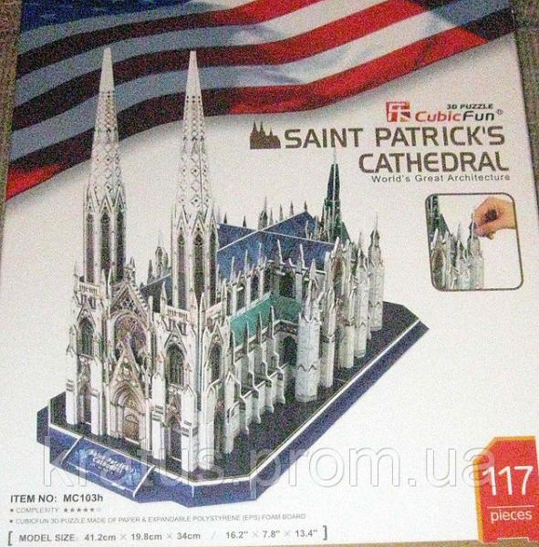 MC 103h Собор Святого Патрика  117  дет. (CubicFun)