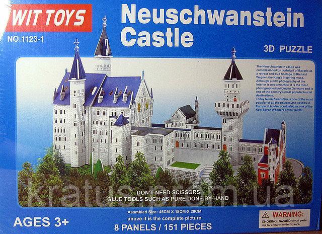 1123-13 D пазл  «Замок Нойшванштайн»