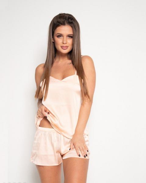 Домашняя одежда ISSA PLUS 10322  L персиковый