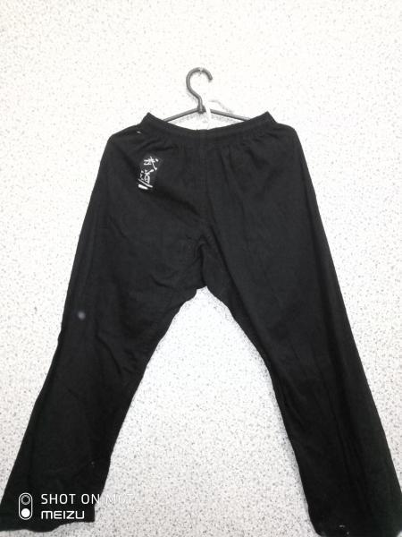 Штаны для единоборств черные 140-150