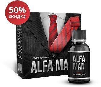 Alfa Man (Альфа Мэн) – средство для потенции и каменной эрекции