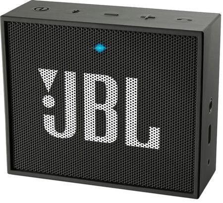 Беспроводная акустика JBL Go, черный