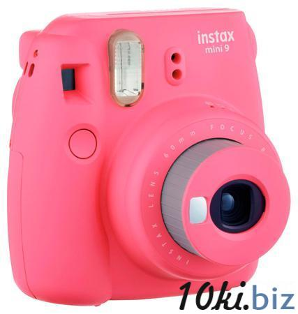 Фотокамера мгновенной печати Fujifilm Instax Mini 9, розовый Аккумуляторы  для фото-, видеокамер в России