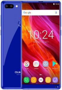 "Фото Смартфоны Смартфон Oukitel MIX 2 Blue 8 Core (2.39GHz)/6GB/64GB/5.99"" 2160*1080/21Mp+2Mp/13Mp/2Sim/3G/4G/BT/WiFi/GPS/Android 7"