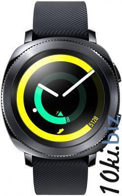 """Смарт-часы Samsung Galaxy Gear Gear Sport 1.5"""" Super AMOLED черный SM-R600NZKASER Умные часы и фитнес браслеты в Москве"""