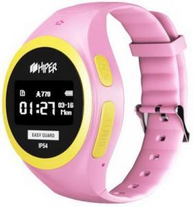 Фото  Смарт-часы Hiper Easyguard розовый EG-01PNK