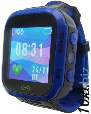 Смарт-часы Jet Kid Smart синий Умные часы и фитнес браслеты в России