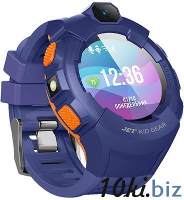 Jet Kid Gear blue/orange Умные детские часы Умные часы и фитнес браслеты в России