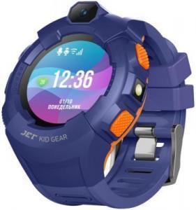 Фото  Jet Kid Gear blue/orange Умные детские часы