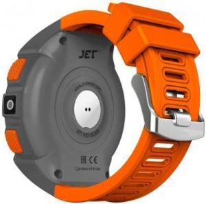 Фото  Jet Kid Gear orange/grey Умные детские часы