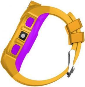 Фото  Jet Kid Gear yellow/purple Умные детские часы