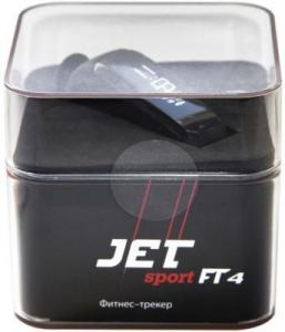 Фото  Jet Sport FT-4 black Фитнес-браслет