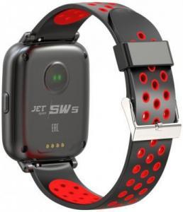 Фото  Jet Sport SW-5 red Умные спортивные часы
