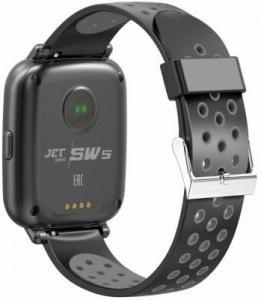 Фото  Jet Sport SW-5 grey Умные спортивные часы