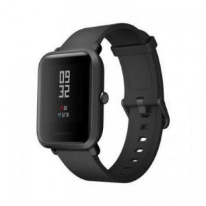Фото  Xiaomi Amazfit Bip Black (Android 4.4, iOS 8 шагомер, пульсометр, компас, GPS,SMS, emai) Фитнес-часы