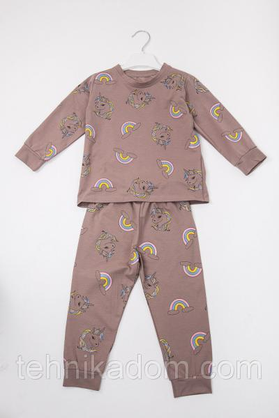 Пижама 71080 (кофейный)