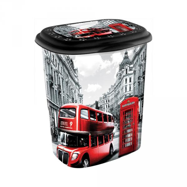 Корзина для белья Лондон от Elif Plastik 339-9 #PO