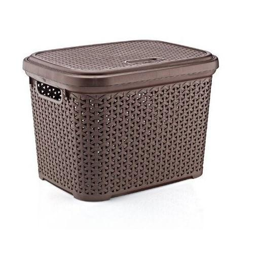 Корзина для хранения Hobbylife 08 1108-4 коричневый #PO