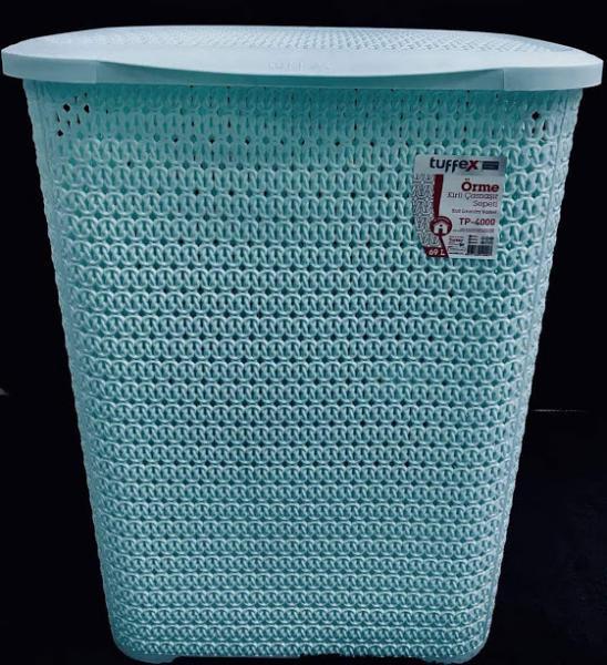 Корзина для белья Knit Tuffex TP-4000-3 мятный #PO