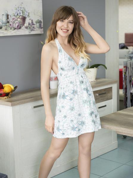 Фото Сорочки женские Ночная сорочка с открытой спиной Tiffany