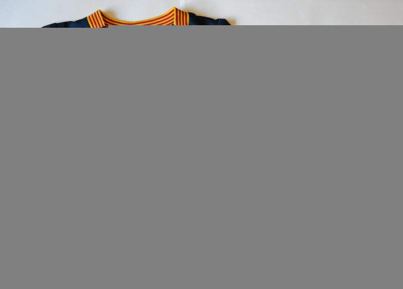 """Футбольная форма ФК """"Барселона"""" детская + гетры в подарок M (146-152см)"""