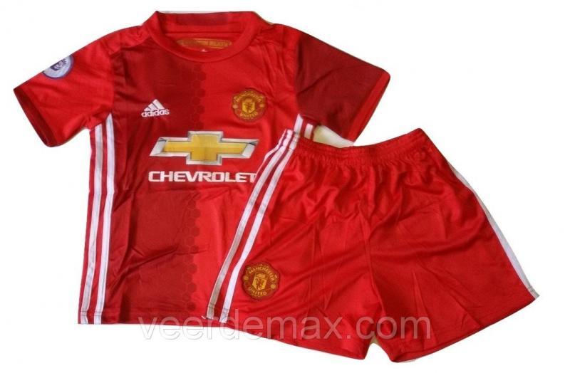 Футбольная форма детская Манчестер Юнайтед Ибрагимович (Manchester United Ibrahimovich) 2016-2017 домашняя