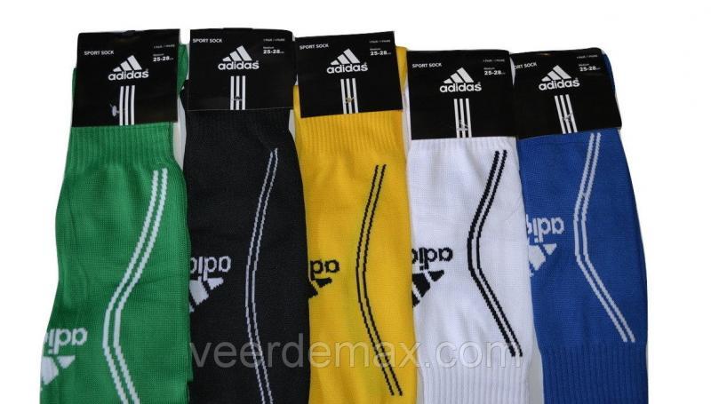 Гетры футбольные однотонные  ( плотные, усиленная пятка и носок) Зеленый
