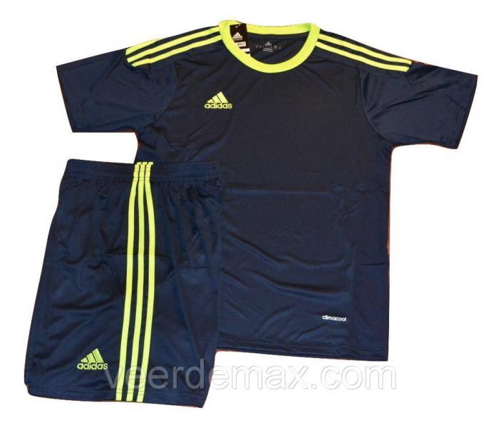 Футбольная форма игровая Adidas ( цвет - темно синий ) XXL (р.50-52 рост 181-186 см)