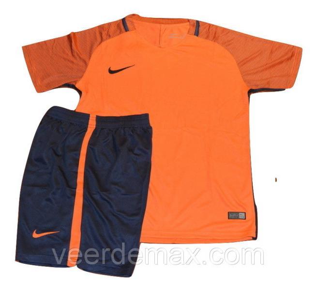 Футбольная форма игровая Nike ( цвет - светло оранжевый ) XXL (р.50-52 рост 181-186 см)