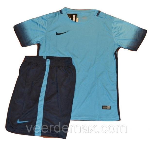 Футбольная форма игровая Nike ( цвет - синий-голубой ) L (р.46-48 рост 167-174 см)