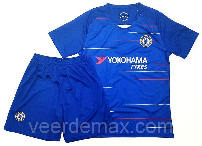 Футбольная форма Челси (Chelsea) 2018-2019 Домашняя