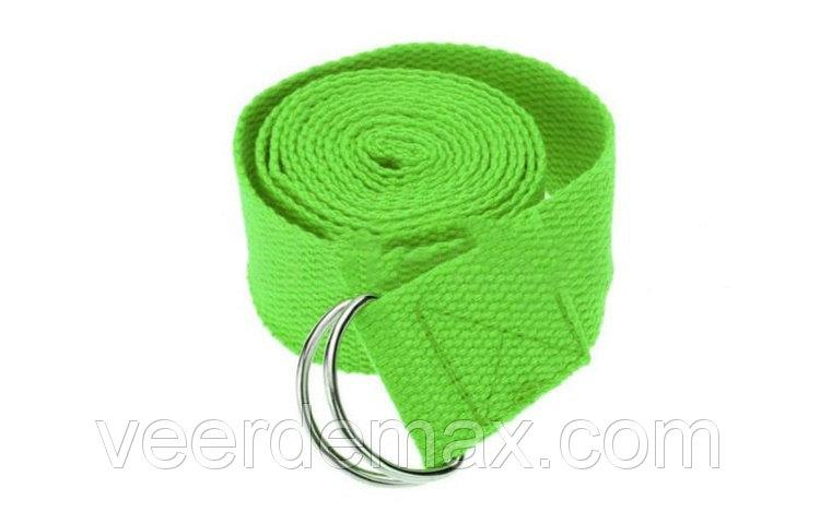 Ремень для йоги (размер 183 х 3.8 см ) цвета в ассортименте