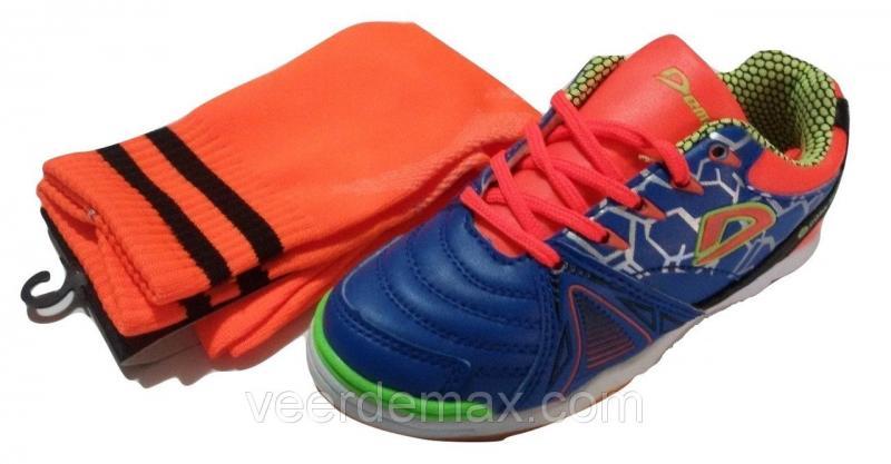 Кроссовки для футбола для самых маленьких размеры 30 - 36 + Гетры детские размеры 24-35