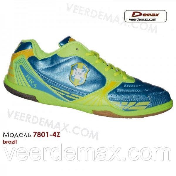 Кроссовки для футбола Veer Demax размеры 36 - 41 ФУТЗАЛ 41 (стелька 26 см)
