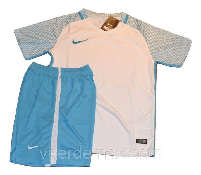 Футбольная форма игровая Nike ( цвет - светло голубой )  3 XL (на рост 185-190 см)