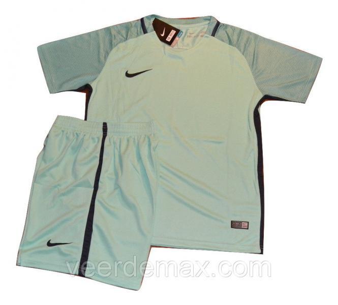 Футбольная форма игровая Nike ( цвет - аквамарин ) 3 XL (на рост 185-190 см)