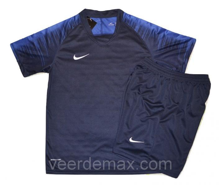 Футбольная форма игровая Nike ( цвет-синий)