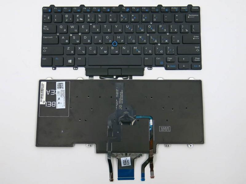 Клавиатура для DELL Latitude E5450, E7450