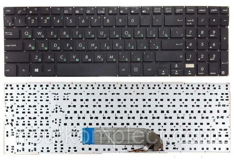 Клавіатура до ноутбука ASUS TP500, TP500L, TP500LA, TP500LB, TP500LN