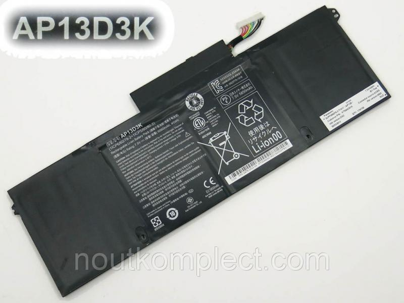 Батарея для Acer AP13D3 (S3-392, S3-392G) 6060